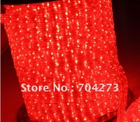 72 Red led strip flat four line & flexible led strip & neon light strip retail & wholesale free shipping