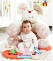 In stock mouse Free Shipping ELC Blossom Farm Sit Me Up Cosy-Baby Seat Play MatPlay Nest Sofa Baby game pad  rita yib's store