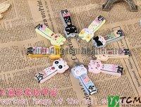 50 pcs/lot Cute cartoon animal nail clippers /nail scissors/nail cutter 9 modle send out randomly