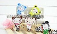 100 pcs/lot Cute cartoon animal nail clippers /nail scissors/nail cutter 5 modle send out randomly