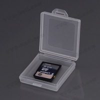 20Pieces/Lot Free Shipping Multifunctional Jewelry Battery Box Plastic Box Storage Container (Size: 4.7 x 4.5 x 1.2cm)