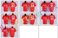 Free shipping-2012 Toronto Blue Jays Canada Team Red Color jerseysBlue Jays jerseys,5pcs/lot