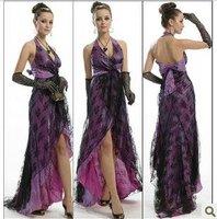 The bride engagement dress lovely dress purple dress toast engagement dress
