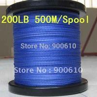 Super Strong 100% UHMWPE 8-Braid Fishing Line 200LB 0.8MM 500M/Reel