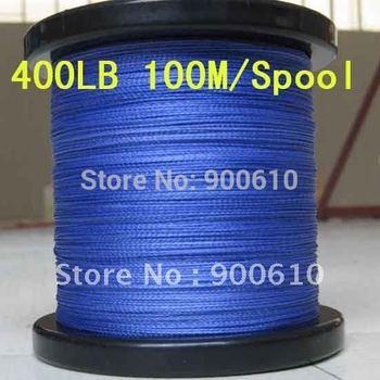New Strong 100% UHMWPE 8-Braid Fishing Line 400LB 1.5MM 100M/Reel Free Shipping Fishing rope