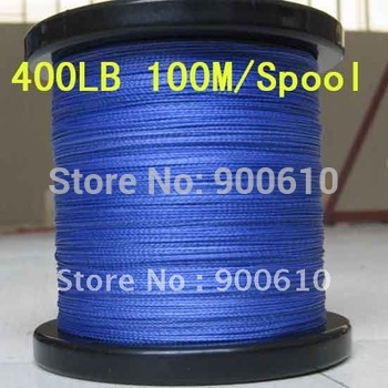 Super Strong 100% UHMWPE 8-Braid Fishing Line 400LB 1.5MM 100M/Reel Free Shipping
