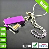 Free shipping (25pcs) Wholesale Mini SWM Custom USB Drives,,4gb,8gb,16gb, free shipment and drop shipping