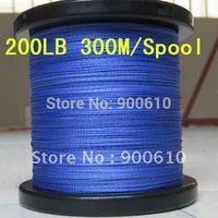 Super Strong 100% UHMWPE 8-Braid Fishing Line 200LB 0.8MM 300M/Reel