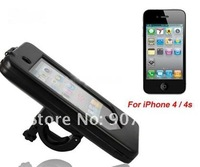 Waterproof Bicycle Bike Handlebar Mount Case Cover Cradle Protector for iPhone 4 /4S 3 colors free shipping 20pcs/lot