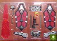 MGS01 sword for transformer colour(red)