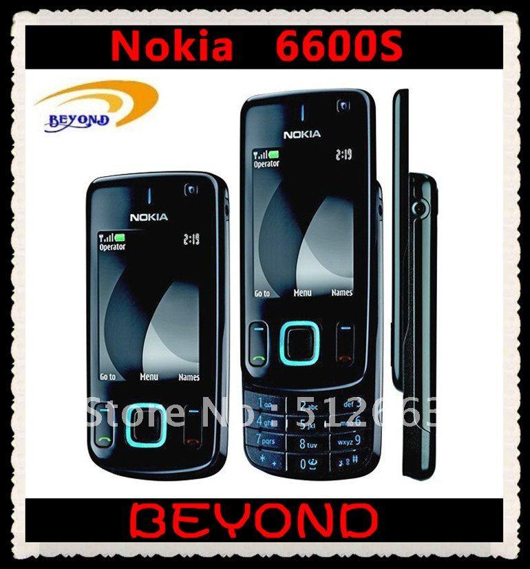 Bonne qualité d'origine nokia 6600 déverrouillé. smart téléphone