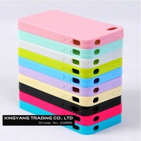 10PCS/Lot Soft Silicone Case For iPhone4GS/4G, Candy Case 10 Colors for Choose, Case For iPhone 4/4S