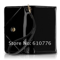 wholesale high quality Original packaging Michael  real leather Wallet case for  4G  5pcs/lot  free shipping
