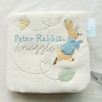 2012 New Hot Sale Free Shipping Peter Rabbit Educational Soft Baby Cloth Book Toy