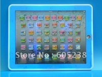 Free shipping Y-pad Table  Learning Machine English Computer for Kids 19*24cm