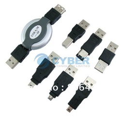 USB Adapter Travel Kit Cable to Firewire IEEE 1394 Free Shipping 072(China (Mainland))