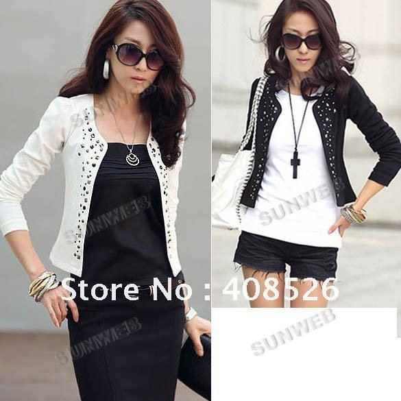 Xhaketa dhe pallto .. FoTo! - Faqe 2 2012-New-Lady-s-Long-Sleeve-Shrug-Suits-Jacket-Fashion-Cool-Women-s-Rivet-Design-Coat