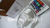 $10 off per $100 order 24 key IR controller for RGB LED strip controller 6A 12v