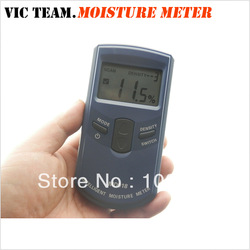 3444 Inductive Wood Tree Timber Digital Moisture Meter with bag MD918 4~80% Resolution:0.5% 5pcs/lot(China (Mainland))