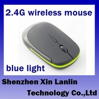 2.4G 5D wired mouse blue light engine 10m very comfortable 4 colours 1 pc freeshipping #3200