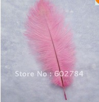 Wholesale pink ostrich feather 100pcs/lot  6-8 inch 15-20cm ostrich feathers Free Shipping