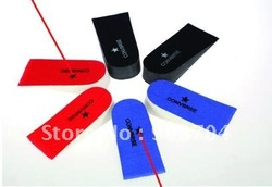 5pcs/lot Soft sponge Taller Insole Inserts Lift Shoe Heel Pads Height Increase(China (Mainland))