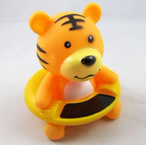60pcs/lot Tiger Design Novelty Items Retail Baby Bath Thermometer Cartoon Swimming Circle Waterproof Thermometer(China (Mainland))