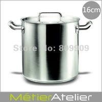 16cm/3.2L stock pot 18/10 stainless steel giftbox packing brand new K0043