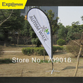 Hot sales! 3.6m Teardrop flying banner, deco wing without printing