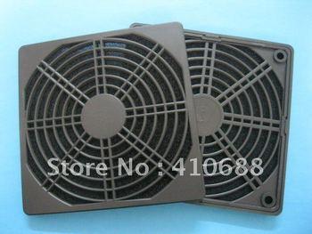 Black Dustproof Dust Filter Used for 120mm DC Fan 120mm x 120mm 100 pcs per lot Hot Sale