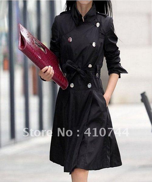 Black Trench Coats Women