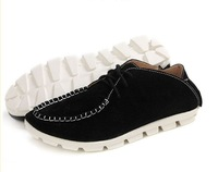 British style fashion trend of Korea breathable leather shoes Ornhm