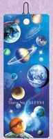 DHL free shipping & Hot sale 3D lenticular bookmark with planets pattern PET high definition with beautiful tassle