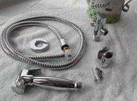 Crazy Discount Muslim Handheld Brass Shattaf Toilet Bidet Sprayer Set With Hose&Bracket&Fit Parts& Colour Box TS571A-SET