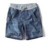 Big children&#39;s clothing child denim shorts male child casual thin shorts belt