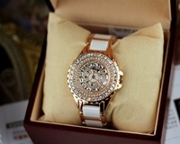 fashion Ladies Luxury crystal Watch  classic watch Ceramic  watch