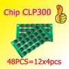 New&#39;&#39; CLP300 chips(EXP,english version) 4 color/set for samsung CLP300/300N/CLX-2161K/CLX-3160FN+freeshipping+