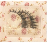 High Quality10pcs/lot  trsparent false eyelash case/collection box easy to carry,portable,very cute! free shipping