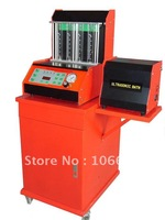 Free shipping--Auto Fuel Injector Cleaner and Tester, 4 cylinders of gasoline fuel injector cleaner(with working table)