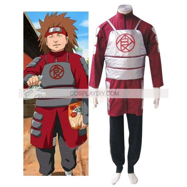 Потребительские товары Cosplaydiy Naruto Shippuden Akimichi Chouji N8 потребительские товары popcosplay ups naruto shippuden