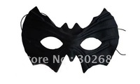Black Half Faces Batman Mask Eye Mask Mardi Gras Masquerade Halloween Costume Party MASKS Free Shipping 100PCS