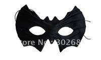 Black Half Faces Batman Mask Eye Mask Mardi Gras Masquerade Halloween Costume Party MASKS Free Shipping 100PCS