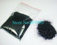 Free Shipping-50g/bag Loose Black Color Shining Nail Glitter Dust Powder for Nail Art DIY decoration