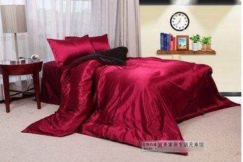 120391 free shipping Silk textile / 4pcs bedding set / bedding