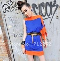 Вечернее платье 2012 Fashion Women Backless Elegant Max Long Evening Dress Halter Slim-Fitting Dress+Black Purple White+120802#19