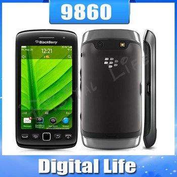 9860 Original Unlocked BlackBerry Torch 9860 Mobile Phone WIFI GPS 3G Touch Screen