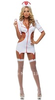 The sexy lingerie female nurse uniform temptation nightclub, public relations under sauna clothes little nurse even body take