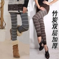 2012 fashion winter thickening napping bamboo Jegging legging pants,warm leggings