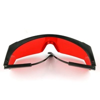 free shipping wholesale NEW -532nm Anti Laser Safety Glasses Eye Protection Red Lens