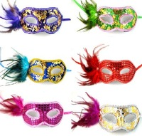 free shipping 2012 new Party masks masquerade mask Venetian mask women Lady Sexy masks for Halloween Carnival